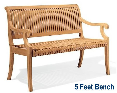arms outdoor teak bench popular liked sede well design revista