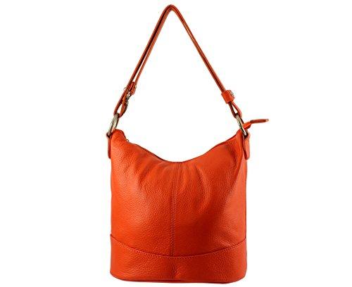 sac cuir cuir sac Orange sac vivo femme bandouliere Italie seau bandoulière Vivo vivo vivo Clair cuir Coloris Sac Plusieurs cuir sac vivo S0pYwzq