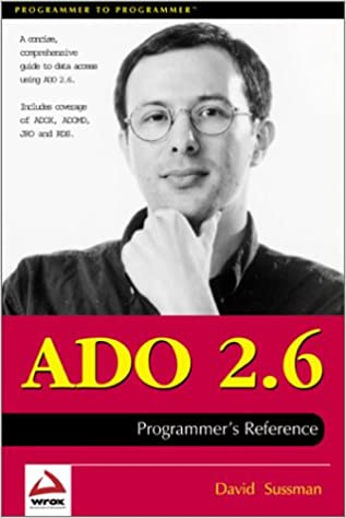 ADO 2.6 Programmers Reference
