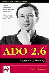 ADO 2.6 Programmer's Reference