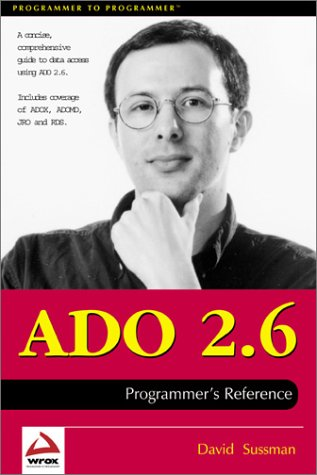 ADO 2.6 Programmer's Reference by Brand: Peer Information