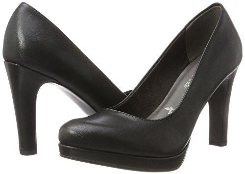 Matt Negro Tacón Para Zapatos Mujer De black 22426 Tamaris xnqzvARw8f