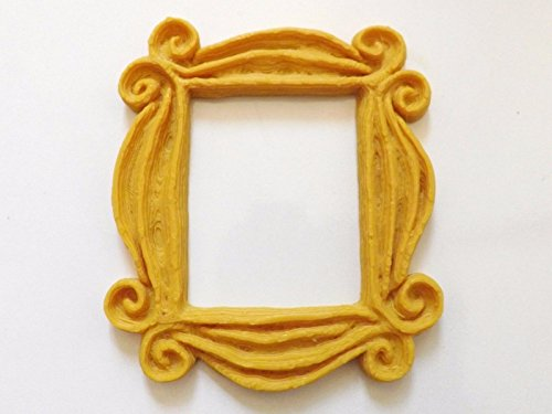 New Friends Frame TV Show Monica Photo Frame Door Yellow Very Good Finish 4 Inch Friends Frame
