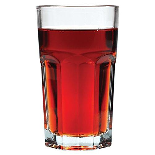 Anchor Hocking 12-Pack Laurel Juice Glass Beverage Set, 6-Ounce
