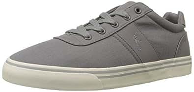 Polo Ralph Lauren Men's Hanford Fashion Sneaker, Basic Grey, 7 D US