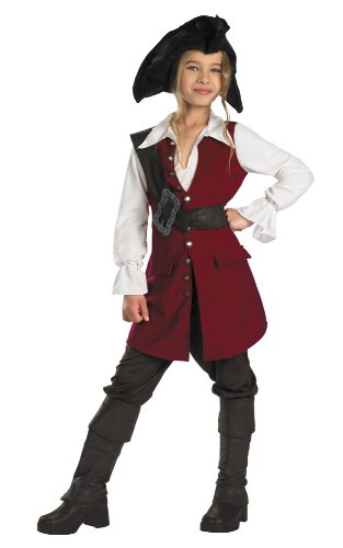 Pirates of the Caribbean Elizabeth Pirate Deluxe - Child Small -