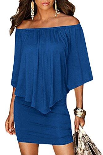 off shoulder mini bodycon dress - 3