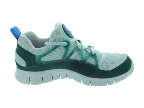 Mens Luce Libera Huarache Nike Neutri Grigio / Nero / Verde Acqua Atomica Tennis Atletiche