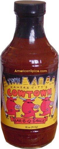 Kansas City Cowtown BBQ Sauce, 18 fl oz