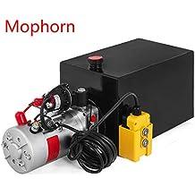 Hydraulic power units amazon com diaphragm pump wiring diagram mophorn double acting single acting hydraulic pump dump trailer steel plastic hydraulic power unit