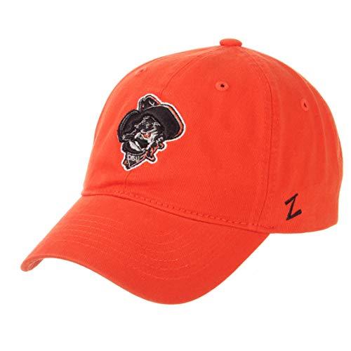 (ZHATS Oklahoma State Cowboys Pistol Pete Scholarship Relaxed Fit Dad Cap - NCAA, OSU Adjustable Orange Baseball Hat)