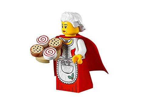 LEGO Holiday Mrs. Claus Minifigure from Santas Workshop (with Cookie Tray) 10245