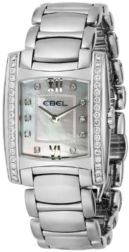 Ebel Brasilia Ladies Mother of Pearl Diamond Watch 9256M38/9810500 - 1215779