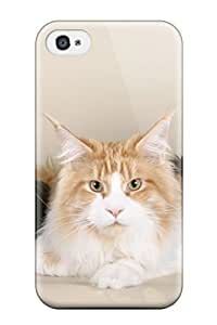 Excellent Design The Three Wise Cats Case Cover For Iphone 4/4s