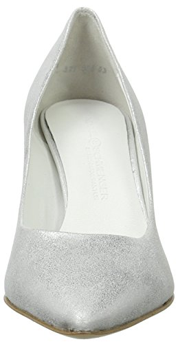 Schmenger Mujer Tacón blanco blanco Zapatos SchuhmanufakturLiz Kennel de und 4wWxpqz5U