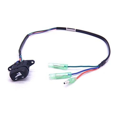 SouthMarine 37850-90J00 37850-90J01 37850-90J02 37850-90J03 37850-90J04 37850-90J05 Trim and Tilt Switch for Suzuki Outboard Motor Remote Control Box ()
