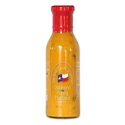 Smokin' Texas Gourmet Jalapeno Honey Mustard 1 Bottle At 12oz. ()