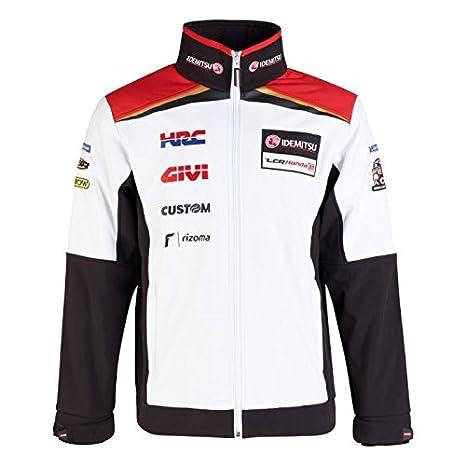 LCR Honda Nakagami Moto GP Racing Team Soft Shell Chaqueta Oficial 2018: Amazon.es: Deportes y aire libre