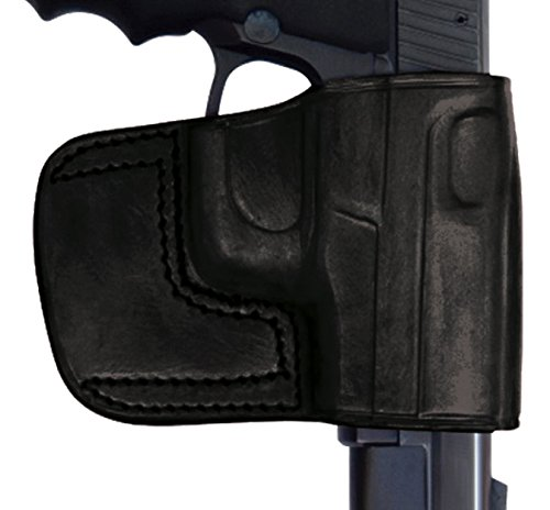 (Tagua BSH-165 Belt Slide Holster, Taurus TCP Series with CT Laser, Black, Right)