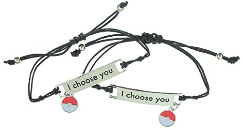 Pokemon I Choose You Best Friend Bracelet (Pokemon Friendship Bracelet)