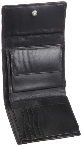 Gabor Venezia 6200 60, Damen Geldbörsen, Schwarz (schwarz 60), 13x11x2 cm (B x H x T) Schwarz (Schwarz 60)