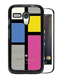 Unique Designed Kate Spade Cover Case For Motorola Moto G Black Phone Case 230