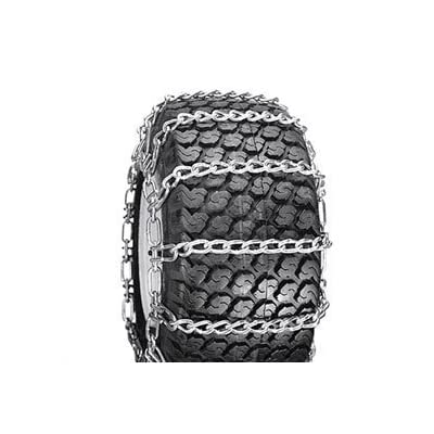 2 Link Spacing TIRE CHAINS ( 23x8.5x12 ) for HUSQVARNA / AYP / MTD / ARNOLD / MURRAY TRACTOR SNOW CHAIN: Automotive