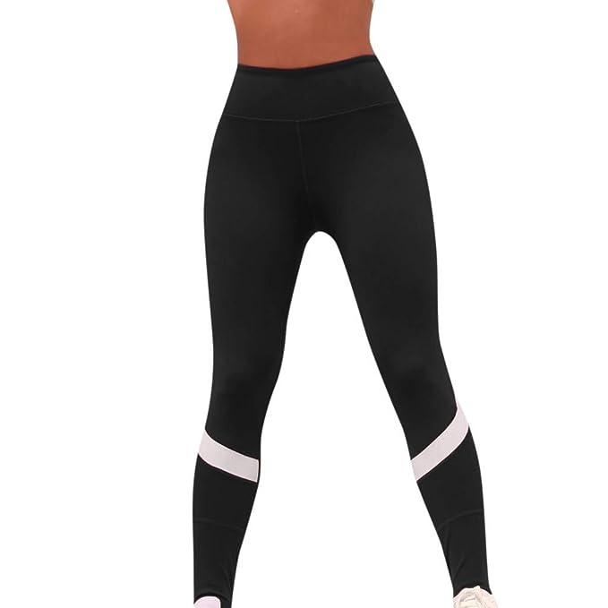 Amazon.com: Pantalones elásticos para mujer, diseño de ...