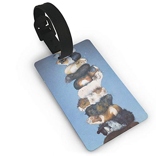 Luggage Tags & Bag Tags, Guinea Pigs Pattern Travel Tags For Luggage Baggage Travel Suitcases Backpacks, Identifier -