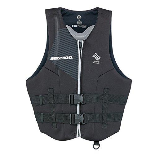 Sea-Doo New Airflow PFD Life Vest Black Men's Size 3XL XXXL 2858701690