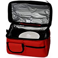 Double Compartment Insulated Lunch Bag