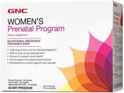 GNC Womens Prenatal Program