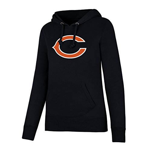 NFL Chicago Bears Women's OTS Fleece Hoodie, Fall Navy, Medium (Fleece Sweatshirt Bears)