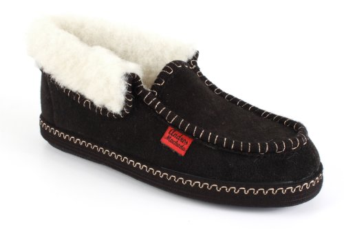 Unisex - Adulto Andrés Machado pantofole bordeaux alte alla caviglia.