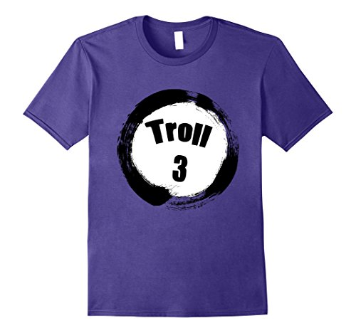 Group Costumes For Three (Mens Troll 3 Halloween Group Costumes Trick or Treat T-shirt 2XL Purple)