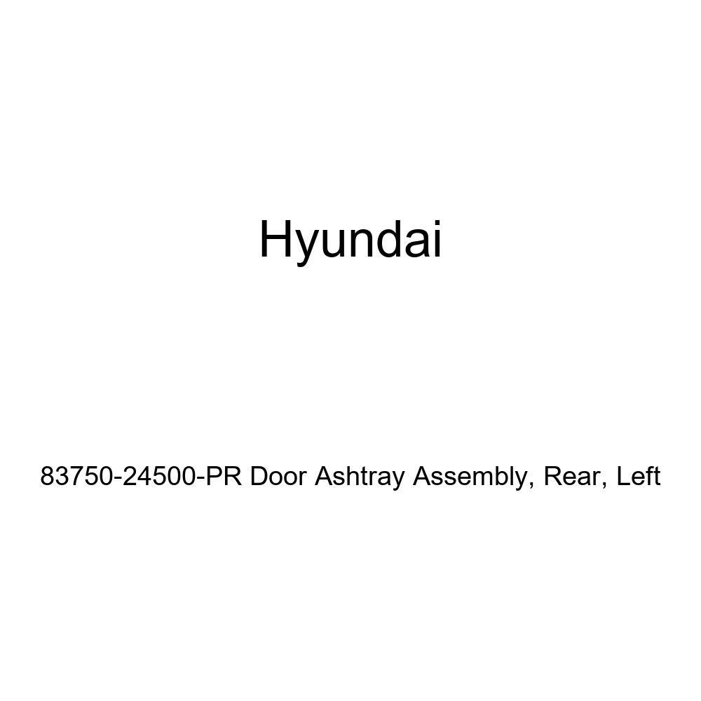 Left Genuine Hyundai 83750-24500-PR Door Ashtray Assembly Rear