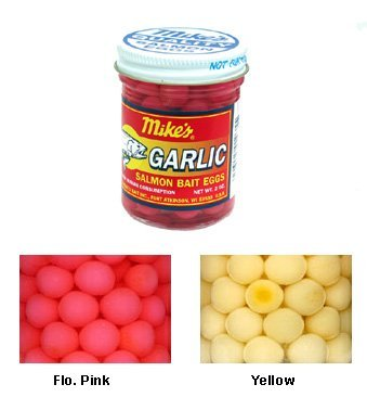 Atlas Mike's Garlic Salmon Egg Trout Fishing Bait, Pink ()