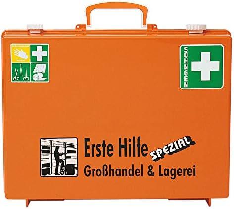 Verbandkoffer SPECIAL Gro/ßhandel /& Lagerei mit Inhalt DIN 13157