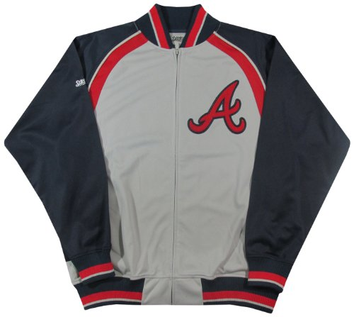 MLB Men's Track Jacket, Grey