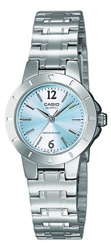 Casio-LTP-1177PA-2A-Reloj-de-cuarzo-para-mujer-con-correa-de-acero-inoxidable-color-plateado
