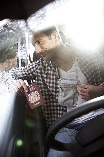 Portafogli Da Collo Borsello a tracolla per passaporti/biglietti/contanti e carte di credito