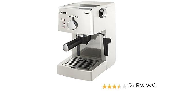 Philips Saeco Poemia Focus - Cafetera de espresso manual, color ...