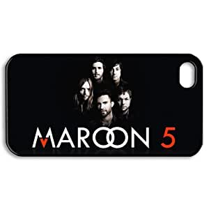 CTSLR iphone 4 4S 4G Case - Best Choice Hard Plastic Back Case for iphone 4 4S 4G - Music Band Maroon 5 (16.53) - 37