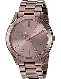 Michael Kors Women's Quartz Stainless Steel Automatic Watch, Color:Brown (Model: MK3418)