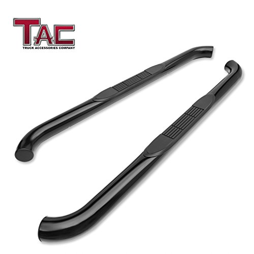 TAC Side Steps Fit 2007-2018 Jeep Wrangler JK 2 Door (Exclude 2018 Wrangler JL Model) 3