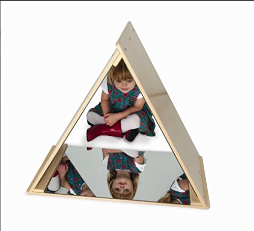 Whitney Brothers Triangle Mirror Tent Toy Activity Roleplay Sets by Whitney Brothers