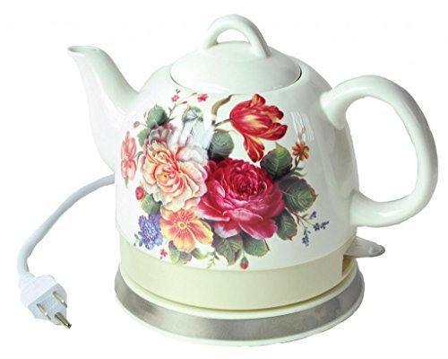 English Garden Teapot - Aunt Polly's Electric Hot Water Kettle