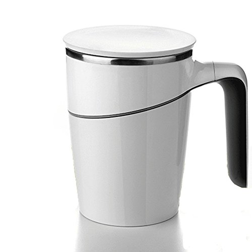 Stainless vacuum Mug Drinking Leakage-proof White Color