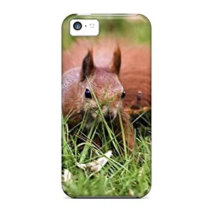 Cute High Quality Iphone 5c Red Squirell Case