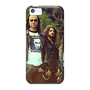 Iphone 5c Usc8879YrTU Allow Personal Design Vivid Moonspell Band Morbid God Image Scratch Resistant Cell-phone Hard Cover -SherriFakhry